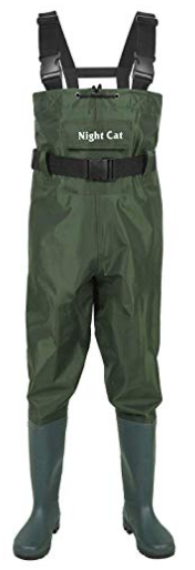 Night Cat Fishing Chest Wader with Bootfoot