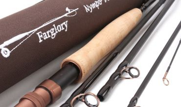 Review of Farglory Medium Fast Nymph Fly Rod with Extension Section